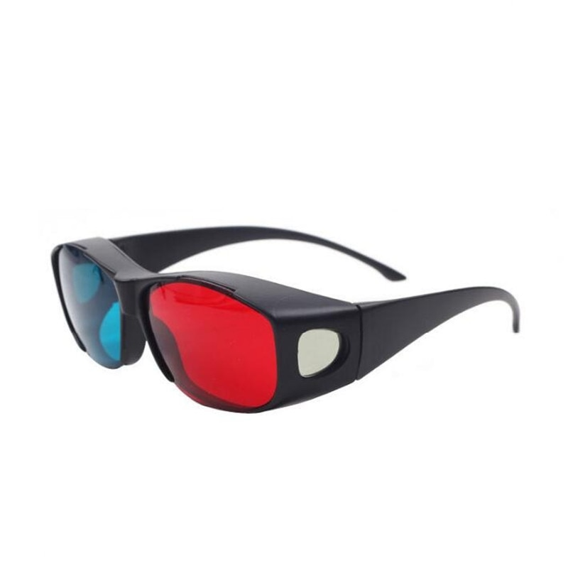 3d glasses universal white frame red blue anaglyph 3d glasses visoin glass for dimensional anaglyph movie game dvd video tv ZXTREE 1PCS 3D Glasses DVD Stereo Movie Sunglasses Women Red-blue Cyan Anaglyph Simple Style  3d Movie Game Upgrade Style Z418