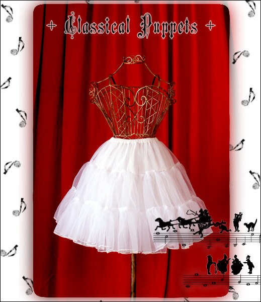 Lolita Skirt Classic Dolls Lolita Glass Yarn Slip 46cm Ultra Long Lining Women Pettiskirt  Free Shipping