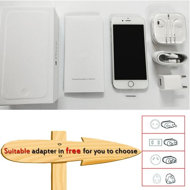 Unlocked Apple iPhone 6 1GB RAM 4.7 inch IOS Dual Core 1.4GHz 16/64/128GB ROM 8.0 MP Camera 3G WCDMA 4G LTE Used Mobile phone 6