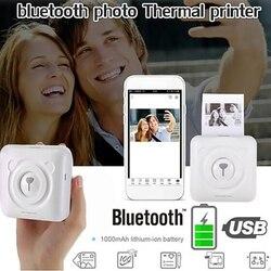 Peripage 304 dpi mini portátil bluetooth sem fio papel foto impressora térmica