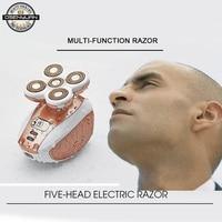 Electric Bald Razor hair razor Depilator Arm Legs Epilator man Female Hair Remover Rechargeable Epilator Body Hair Removal