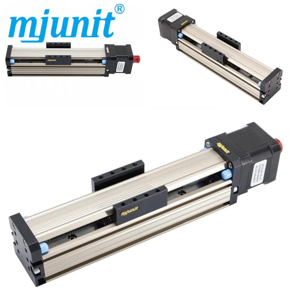 Tornillo de precisión Mjunit tornillo de mesa deslizante manual eléctrico MJ42 tornillo completo z Eje con autobloqueo 150mm accidente Cerebrovascular