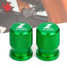 Bouchons de tige de pneu de moto   Pour KAWASAKI Z750 Z650 Z800 Z 750 650 800 accessoire de moto, couvercles hermétiques à