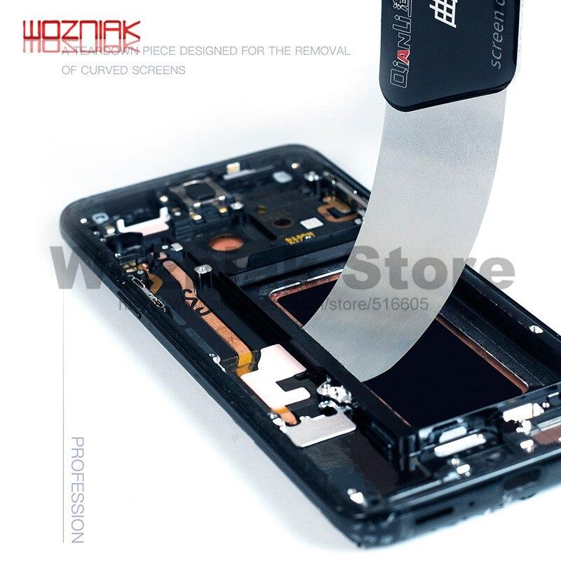 Qianli כלי Ultra דק לחטט Spudger פירוק כרטיס ייעודי עבור מעוקל מסך סמסונג iPhone iPad מסך פתיחת כלי
