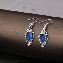 Everoyal kobieta 925 srebro kolczyki biżuteria dla pani prezent moda srebro 925 Sterling akcesoria kolczyki kobiety Bijou