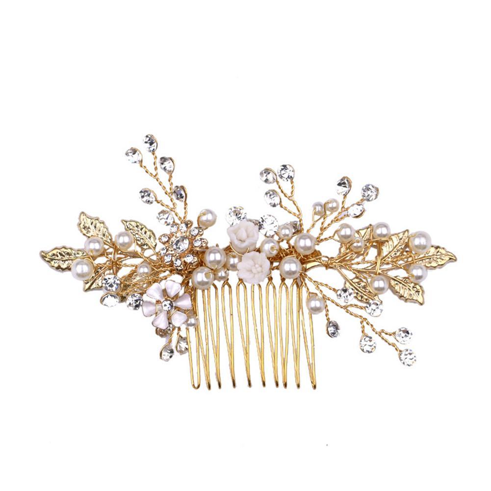 Белая свадебная обувь с украшением в виде цветов и расчески для волос повязка на