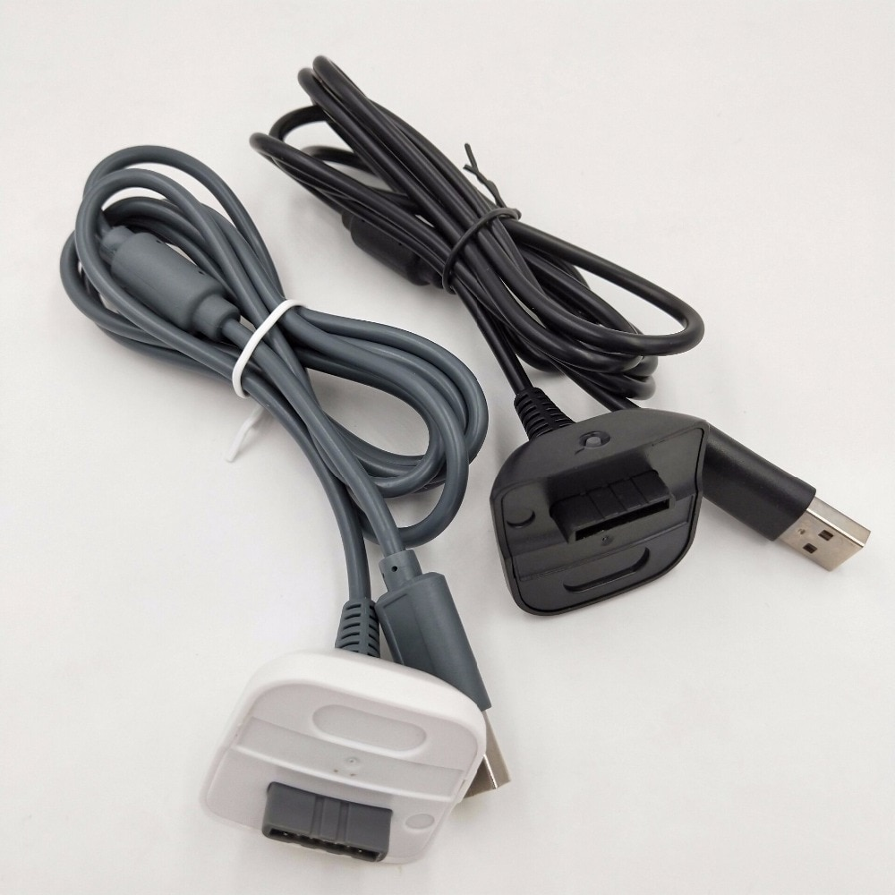 BUKIM, nuevo cargador USB Play, Cable de carga, adaptador para mando inalámbrico XBOX 360