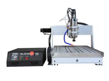 Precio de fábrica 800 W/AC220 CNC6040 de etiqueta/foto máquina de grabado máquina de plástico con precio bajo