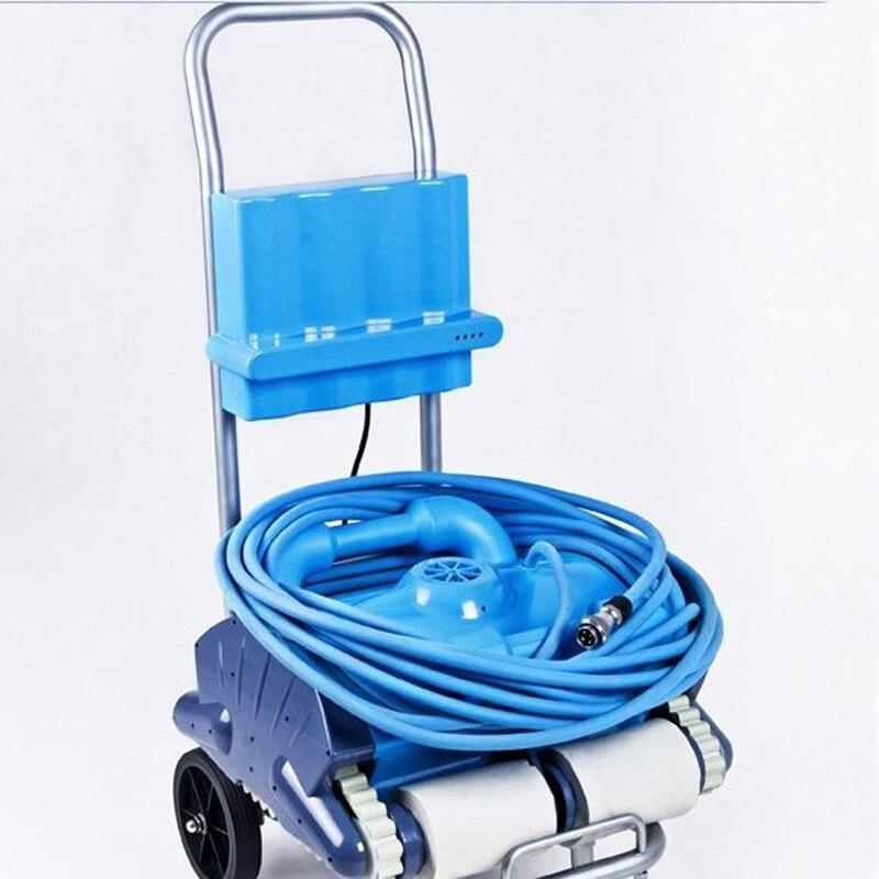 Yeni tam otomatik sualtı vakum yüzme havuzu robotlu süpürge Robot temizleme ekipmanı 120
