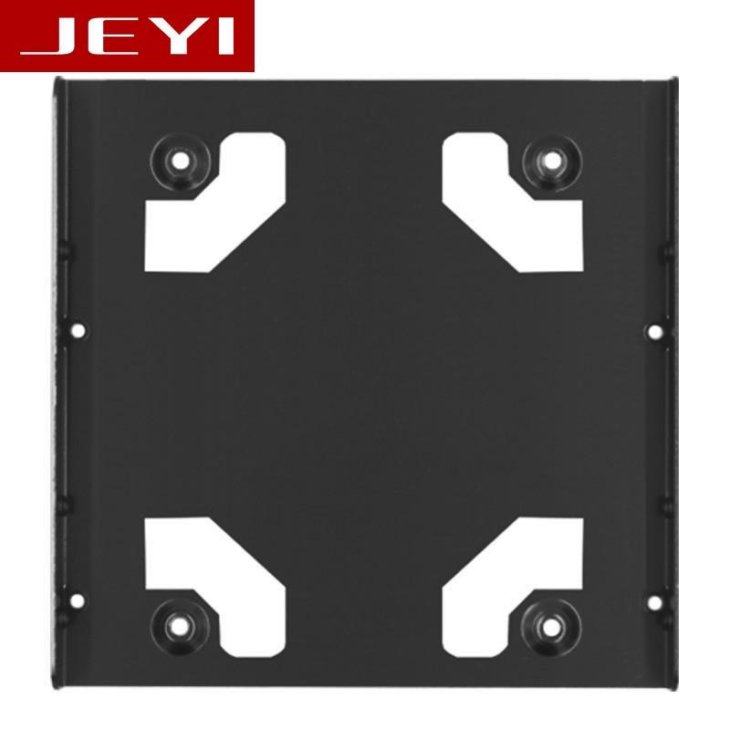 JEYI K106 All-aluminum Two 2.5-inch to 3.5-inch desktop hard drive Bracket SSD Bracket 2.5 TO 3.5 SSD TO 3.5 Frame Caddy bracket