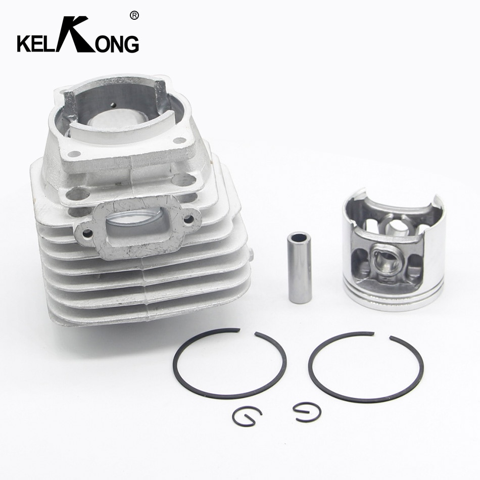 Kit de pistón de cilindro KELKONG de 47MM compatible con motosierra Stihl MS341 MS361 MS 361 341 MS361C #1135 020 1202