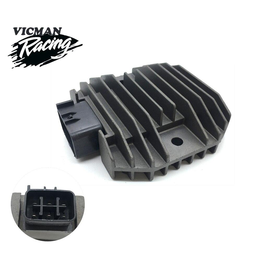 Regulador de voltaje rectificador de motocicleta para Yamaha YZF R6 FZ6R WR250R TMAX XP500 XVS1100 XVS650 RAPTOR 700 YFM70