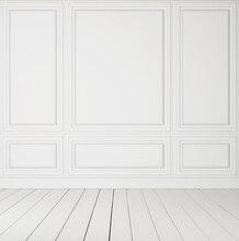 HUAYI White Wall Wood Floor Art fabric Backdrop Photography For Newborn Drop Background XT-3602