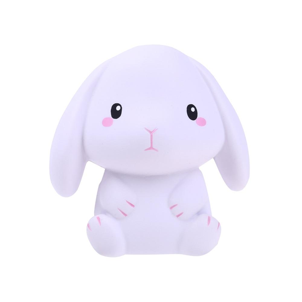 Сжимаемые мягкие сжимаемые восхитительный кролик медленно растет крем сжимать Ароматические снятие стресса забавная игрушка в подарок Z0325