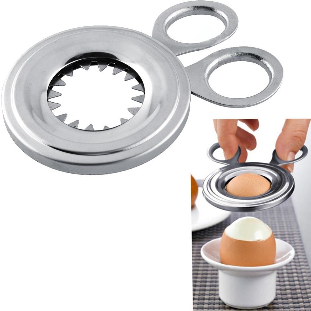105 мм ломтерезка вареное яйцо Топпер Снайпер яичная скорлупа нож для ракушек кухонный бытовой инструмент резак ножничный клипер