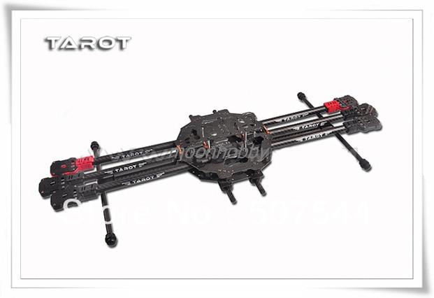Tarot FY690S 3 K fibra de carbono completa plegable 6 ejes hexacóptero 690mm FPV Marco de avión TL68C01 envío gratis