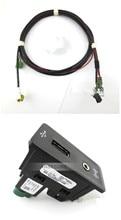 CarPlay MDI USB AMI установочная розетка с кабелем для vw Volkswagen golf 7 mk7 5G0 035 222 E