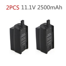 2PCS 2500mAh 11,1 V Für Parrot Bebop Drone 3,0 Upgrade Kapazität Lipo Batterie Drone Backup Ersatz Batterie
