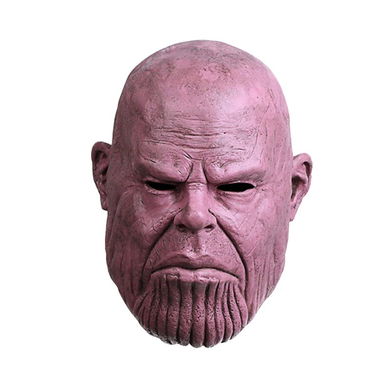 El nuevo vengador Liga 4 máscara Thanos vengadores guerra del infinito de Halloween máscara Thanos s