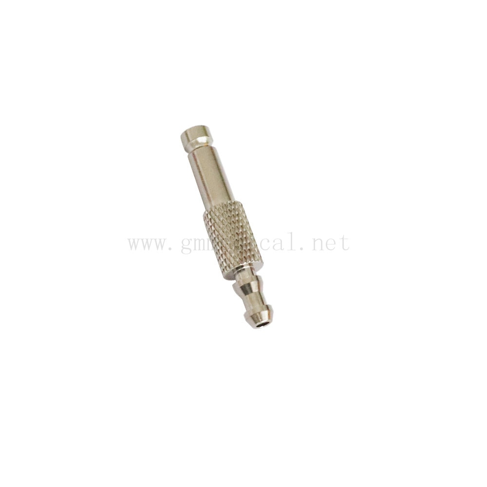NIBP cuff connector, Air hose metal connector ,Use for HP monitor plug connector,5 piece/set.blood pressure monitor.