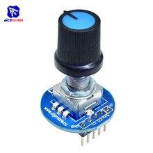 Module de codeur rotatif 5V développement de capteur de brique rond Audio potentiomètre rotatif capuchon de bouton pour Arduino