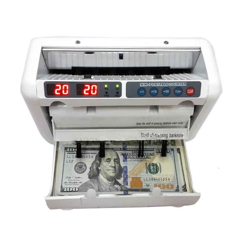 ماكينة عد النقود مناسبة لليورو الدولار الأمريكي الخ متعددة العملات متوافقة مكتب فوترة OK1000 110 فولت/220 فولت