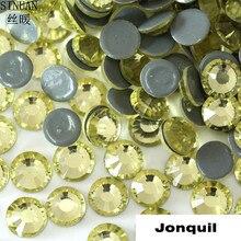 SINUAN pierres jaunes décoratives   Strass Hotfix, Flatback, pierres de verre SS6 SS10 SS16 SS20, pour robe, bricolage