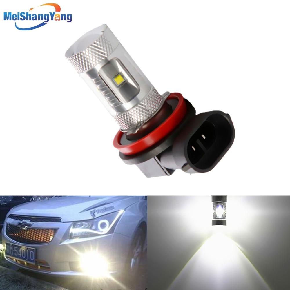 H8 H11 High Brightness 30W LED White Driving Tail Head Light Lamp car led bulbs Car Light Source parking 12V 6000K