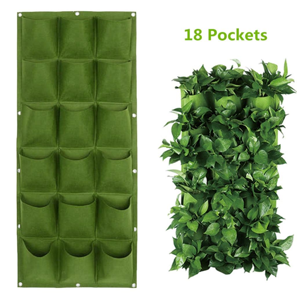 Сумки бонсай для подвешивания стен зеленые мешки выращивания растений