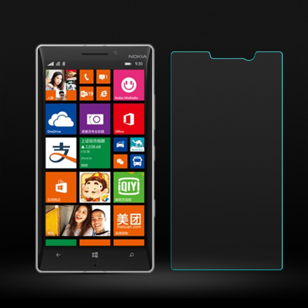 2 uds. Para cristal Nokia Lumia 930 Protector de pantalla de vidrio templado para Nokia Lumia 930 película de vidrio para teléfono Lumia 930 Protector