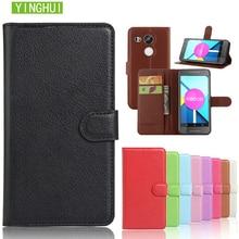 Case For LG Google Nexus 5 E980 Luxury Leather Wallet Stand Flip Case For Google Nexus 5X H790 H791 Back Cover phone case bags