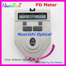 9A profissional Digital PD medidor Pupillometer Pupil medidor de distância régua mais baixos custos de envio