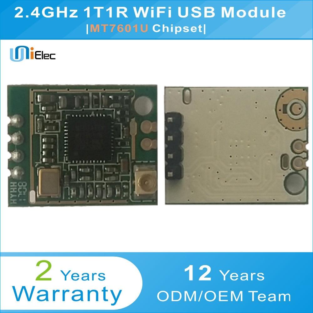MTK  MT7601U 150Mbps 802.11 b/g/n 2.4GHz  WiFi wireless WLAN USB Module PCBA Windows Linux Mac Custom Board