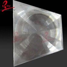 400x300mm optique projecteur en plastique PMMA lentille de Fresnel solaire focale 600mm projecteur avion loupe concentrateur solaire