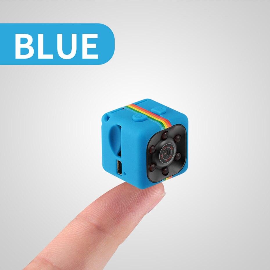SQ11 HD mini cámara pequeña cámara 1080P visión nocturna videocámara Micro video cámara DVR DV videocámara de movimiento pk SQ 11 SQ9 SQ8