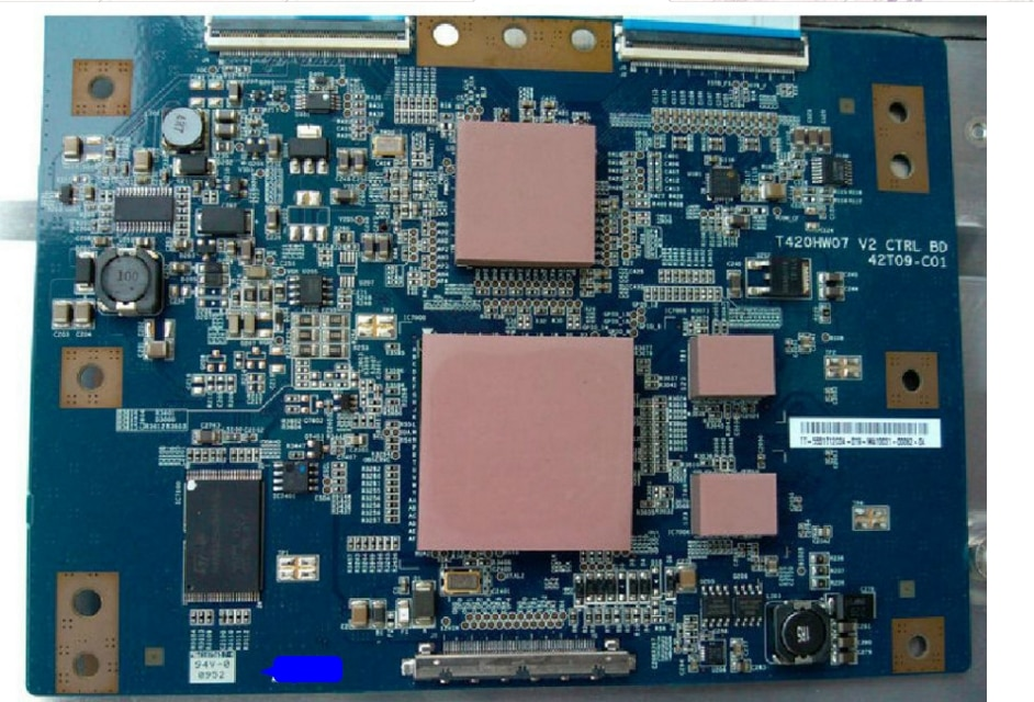 T420hw07 v2 42t09-c01 placa lógica lcd para/t420hw06 v.5 conectar com T-CON conectar placa