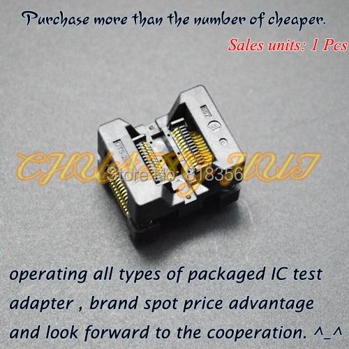 OTS-28-0.65-01 SSOP28 TSSOP28 IC اختبار المقبس محول البرمجة 0.65 مللي متر الملعب 4.4 مللي متر عرض