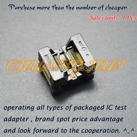 OTS-28-0.65-01 SSOP28 TSSOP28 IC Test Socket Programming Adapter 0.65mm Pitch 4.4mm Width