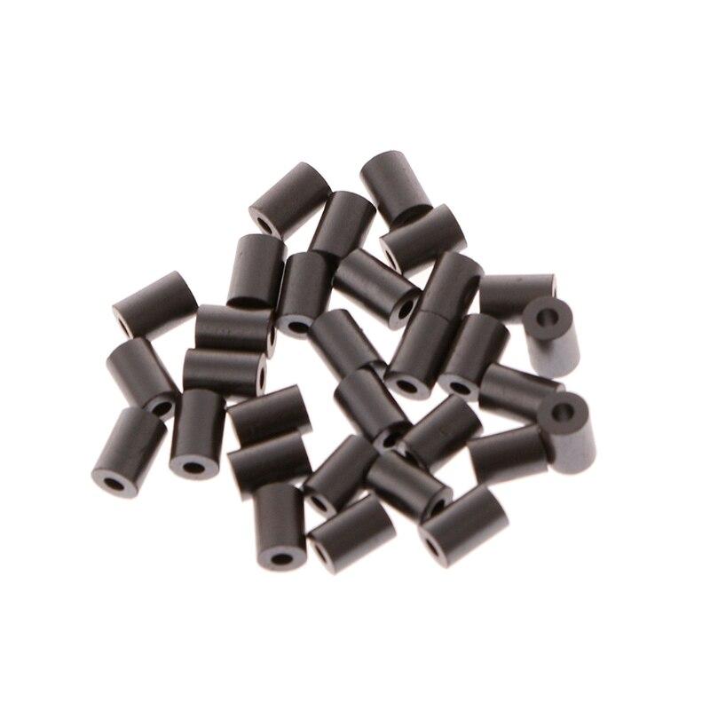 100x núcleo EMI de manga de ferrita 3,5x5x1,5mm núcleos anillo filtro Toroidal ferrita cuenta para lishao mejora del hogar