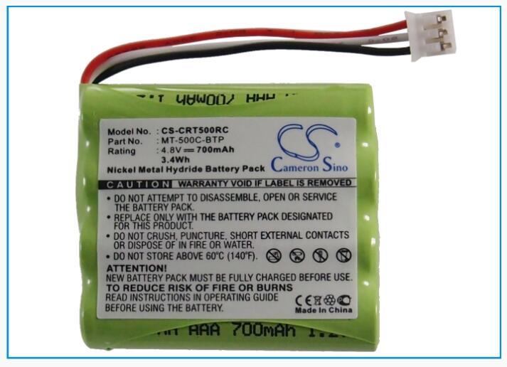 Batería de Control remoto de CRESTRON MT-500C RF de 700mAh Sino