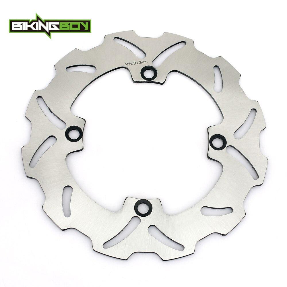 BIKINGBOY de disco de freno trasero disco Rotor para Honda CR 125 R CR 125 E 1998, 1999, 2000, 2001 CR 250 R CR 250 E 1997, 1998, 1999, 2000, 2001