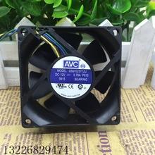 Новый радиатор процессора кулер вентилятор для DS07025T12U 70*70*25 мм 70 мм 7025 DC 12V 0.70A P013 4 Pin Компьютер PWM ПК охлаждения 18 ~ 50CFM