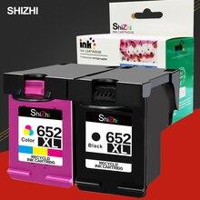 SHIZHI – cartouche dencre pour imprimante HP, 652XL, pour Deskjet 652 1115 1118 2135 2136 2138 3635 3636 3835 4535