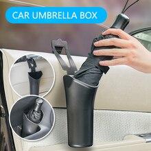 E-FOUR voiture parapluie ensembles ABS + PE conception Simple porte-parapluie Portable parapluie Auto étanche accessoires rangement pour voiture