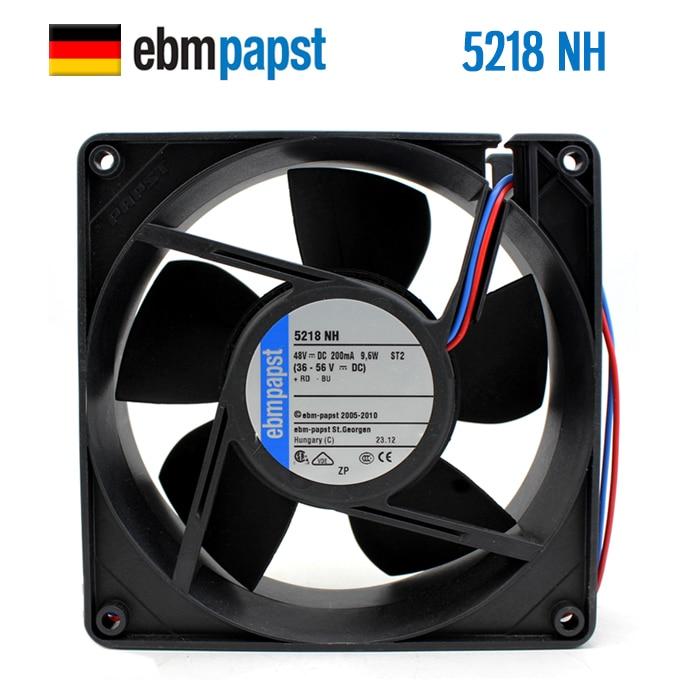 Nuevo ebmpapst PAPST 5218NH 12738 48V 9,6 W 12,7 CM ventilador de refrigeración