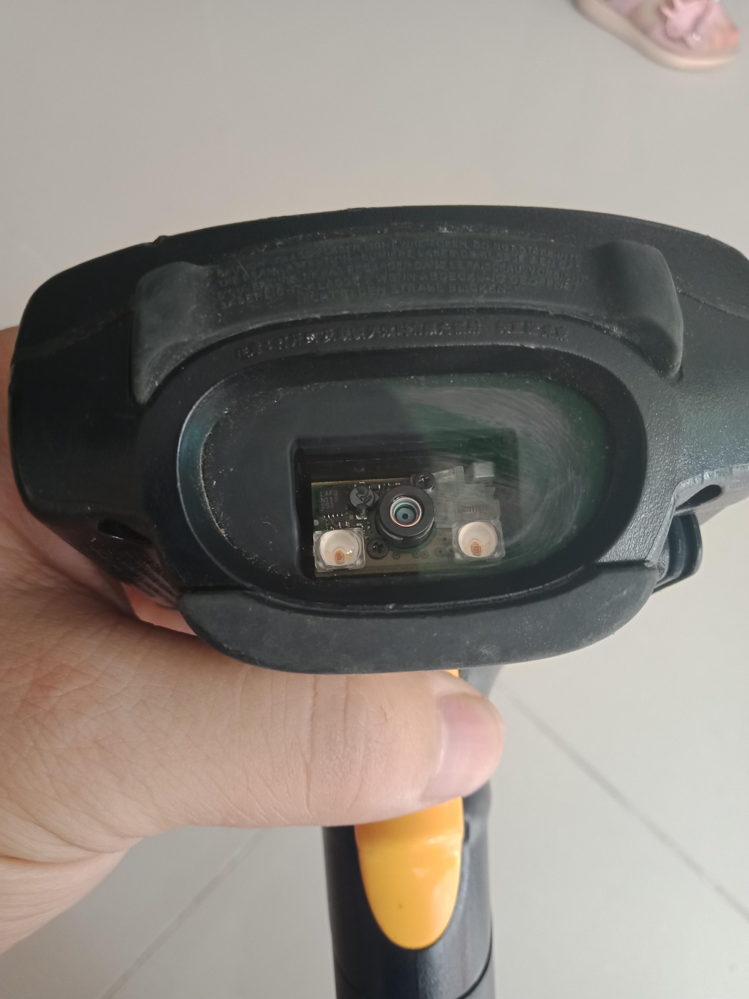 Símbolo motorola mc3190g scanner de código de barras 2d laser computador móvel 48 chaves usadas