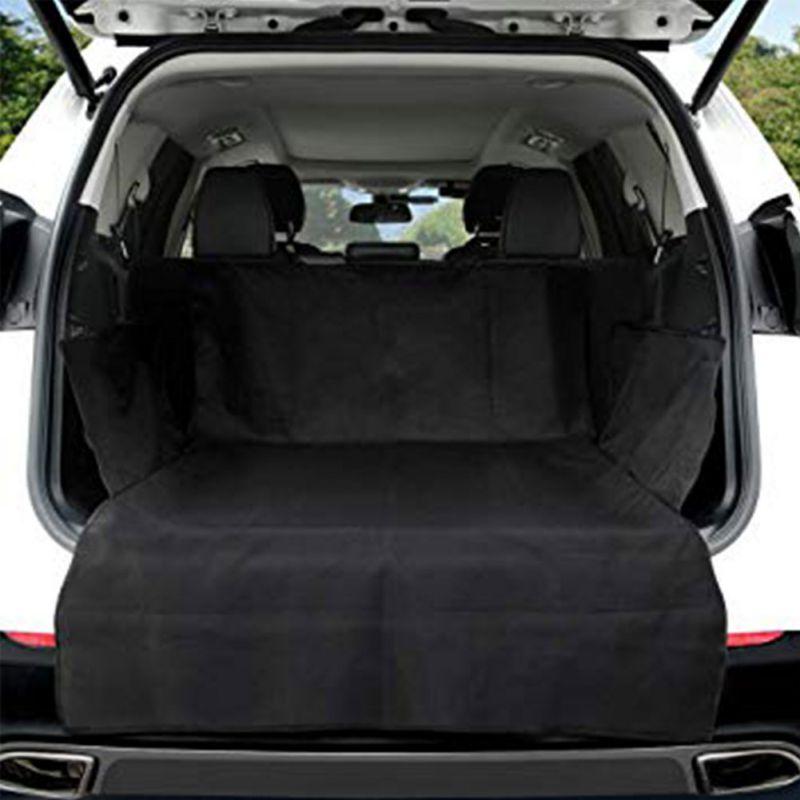 Автомобильный коврик для багажника питомца брезент водонепроницаемый Оксфорд ткань собака кошка Чехлы на заднее сиденье задний автомобильный коврик защита автомобиля одеяло чехол для сиденья