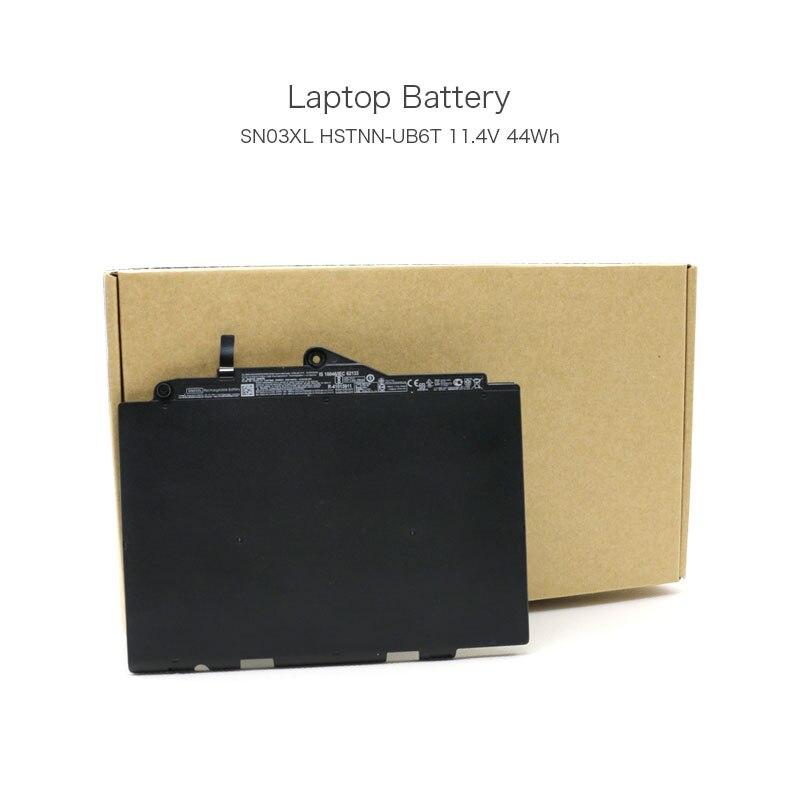 Novo Original 11.4 V 44Wh HSTNN-UB5T SN03XL Bateria Do Portátil para HP EliteBook 725 EliteBook 725 EliteBook 820 G4 G4 G3 Tablet