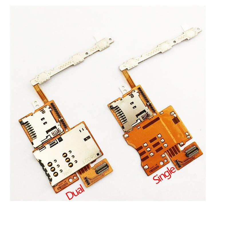 Для Huawei Mediapad 10 FHD S10-101 версия 3G/4G устройство для чтения sim-карт со слотом и гибкой лентой, кабель для мобильного телефона, запасные части