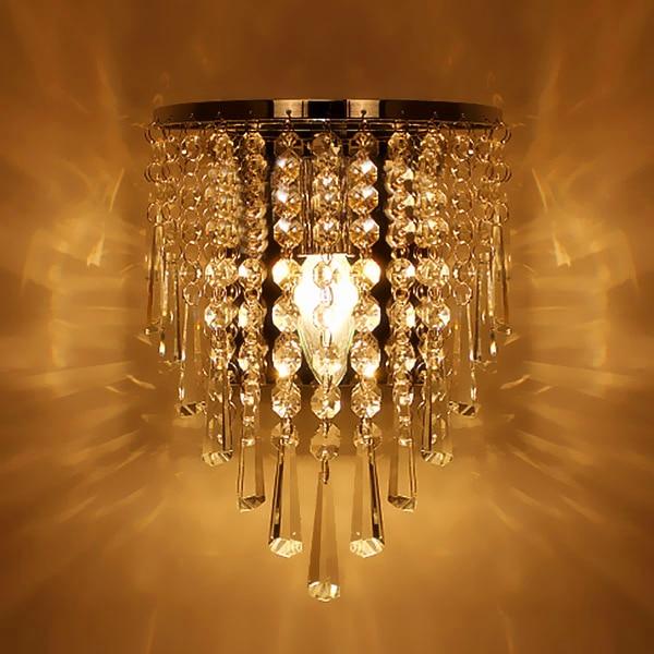 Modern Crystal Chandelier Wall Light Lighting Fixture E14 LED wall Lights led wall lamps